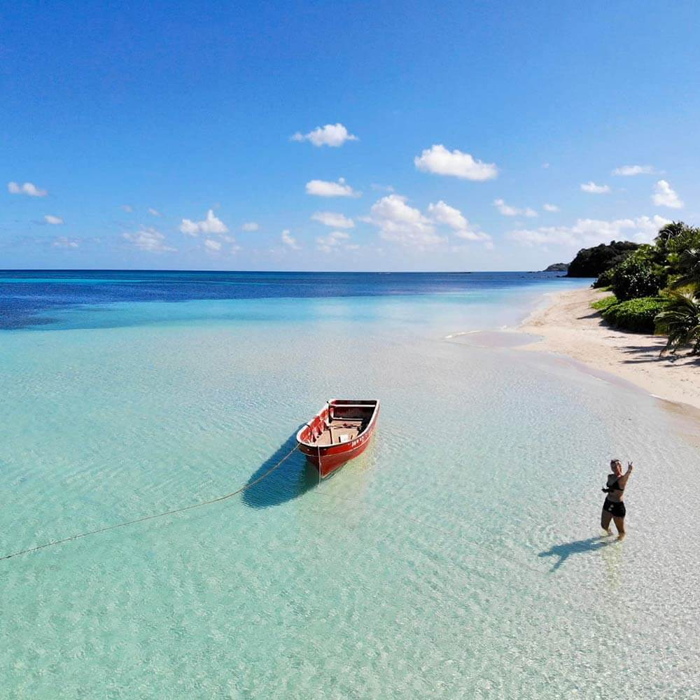Nalova Bay Nacula Island Fiji