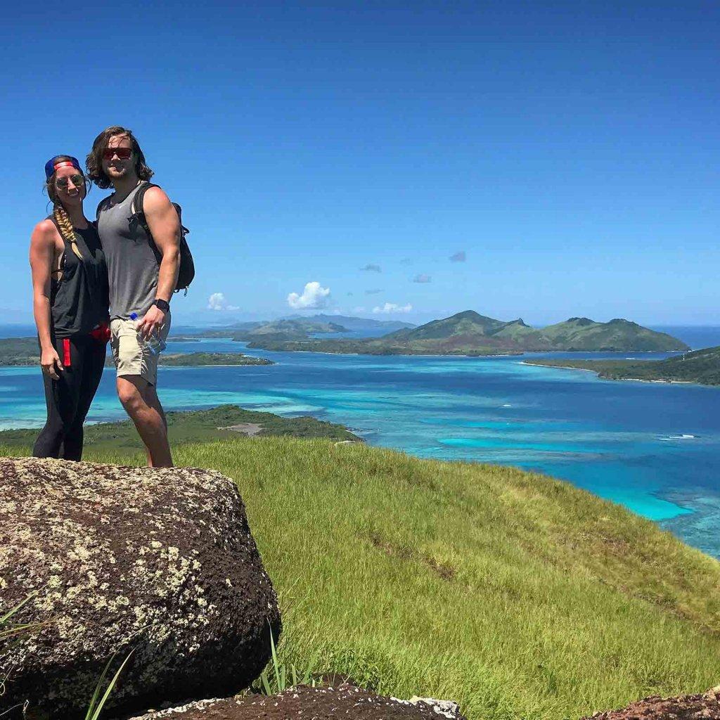 Tracking Nacula Island Fiji