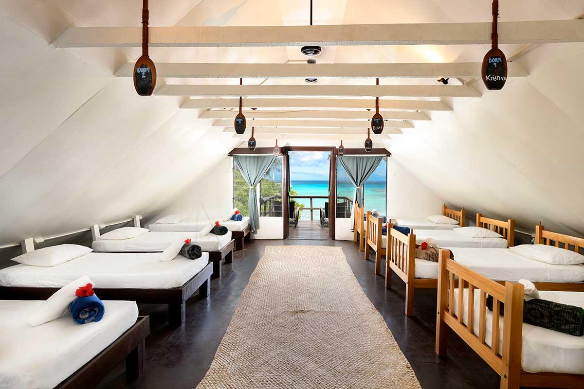 Ocean View Dorm on Nacula Island Fiji